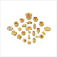 Precision Brass CNC Turned Components Brass Machined Parts