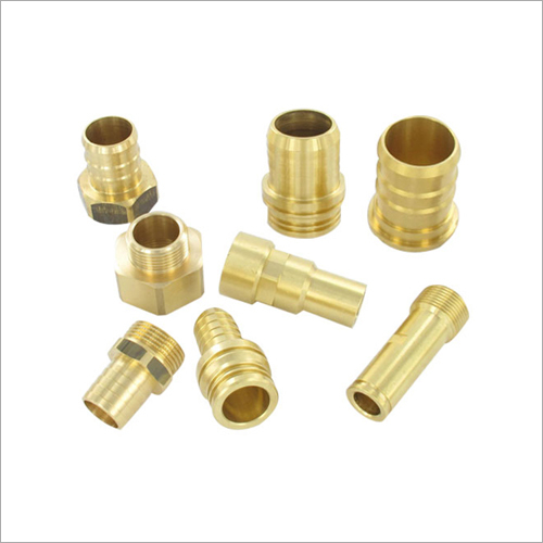 Industrial Grade CNC Brass Components