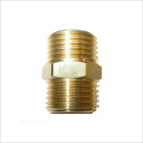 Brass Nipple Threaded Fitting