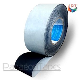 Black Cotton Tape with paper liner