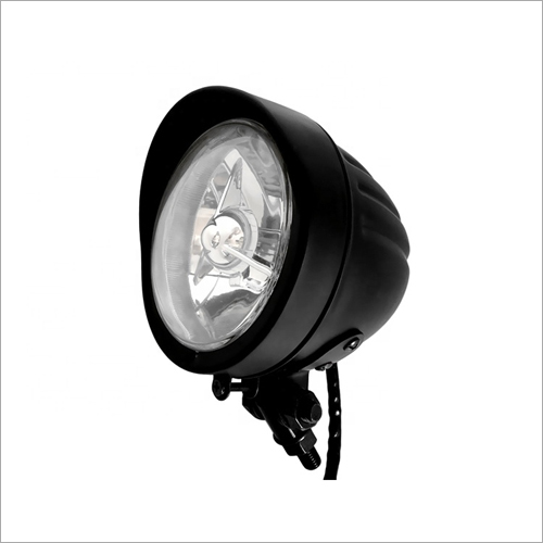 4.5 Inch Classic Retro Front Light For E Bike Motorbike