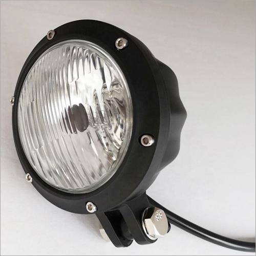 Vintage 5 Inch Black Motorcycle H4 LED Headlight