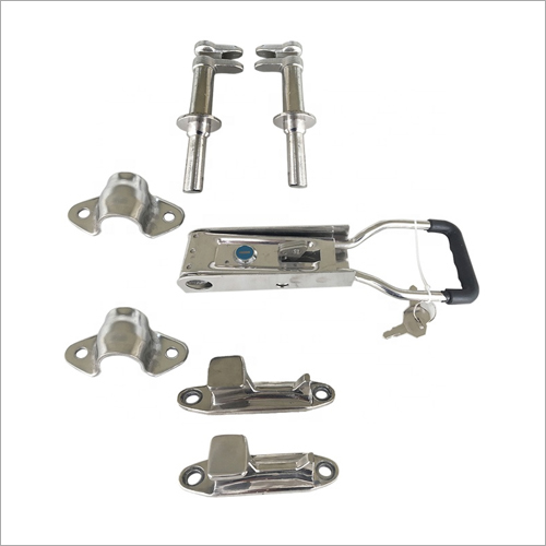 SS Container Truck Rear Door Lock With Forged Handle Lock