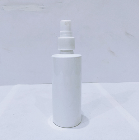 100ml Pet White Bottle With Mist Pump