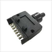 7 Pin Flat Plug Trailer Adapter Truck Trailer Sockect