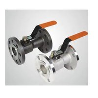 L & T Single Pic Flanged End Fire Safe Ball Valve