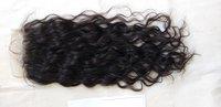 Natural Black Wavy Hair Frontal and Closure