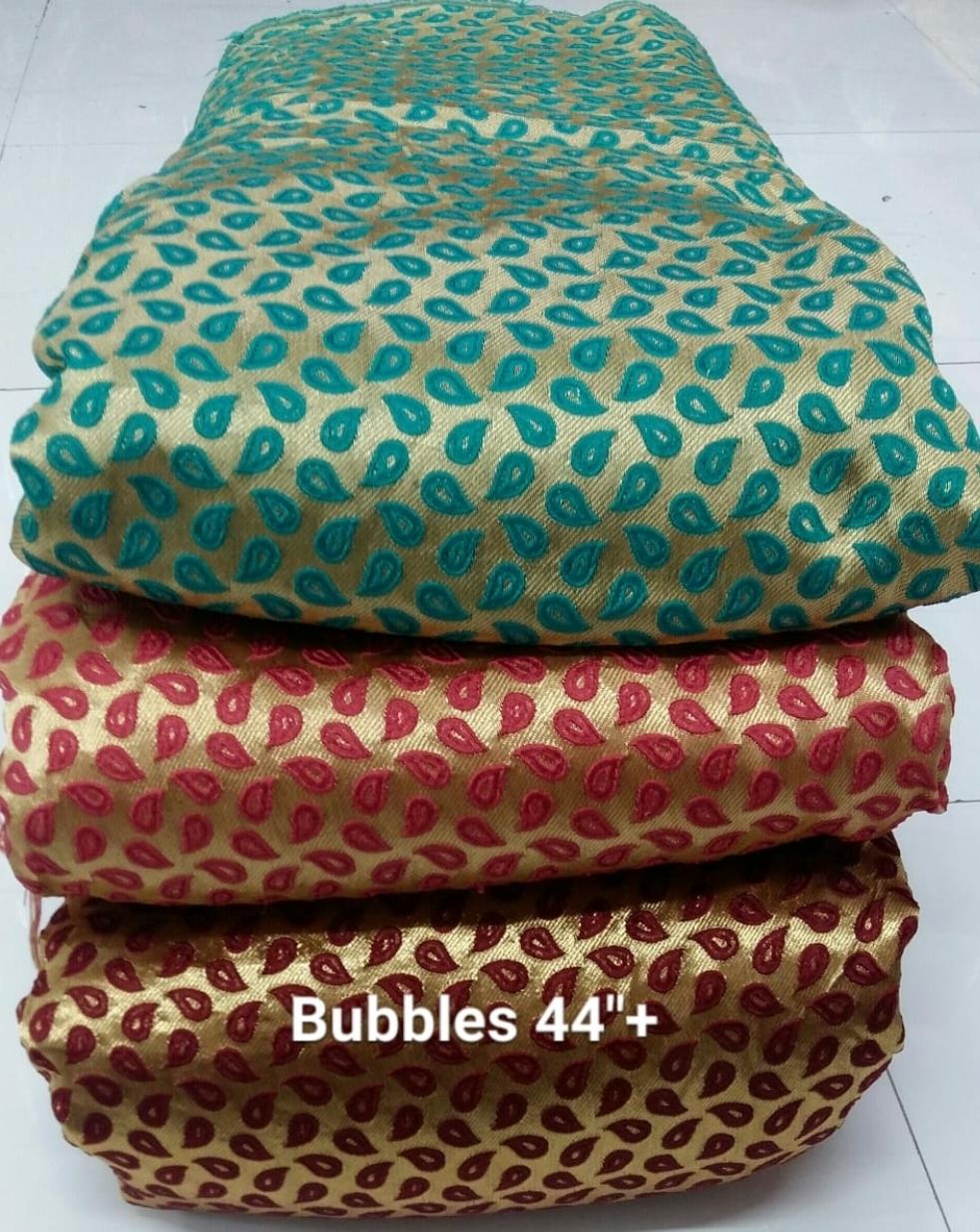 Bubbles Jacquard Fabric