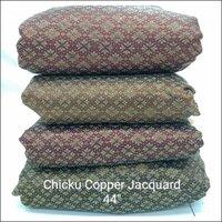 Chiku Copper Jacquard