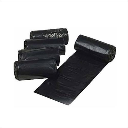 Black Plastic Garbage Roll Bag