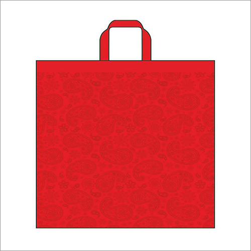 Kairy-Red Non Woven Loop Handle Bag