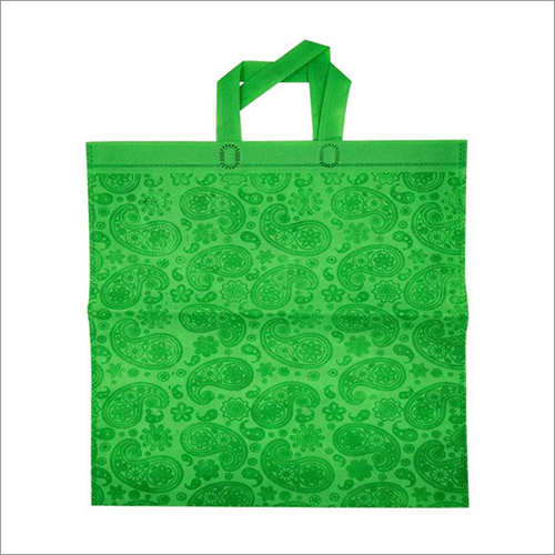 Kairy-Green Non Woven Loop Handle Bag