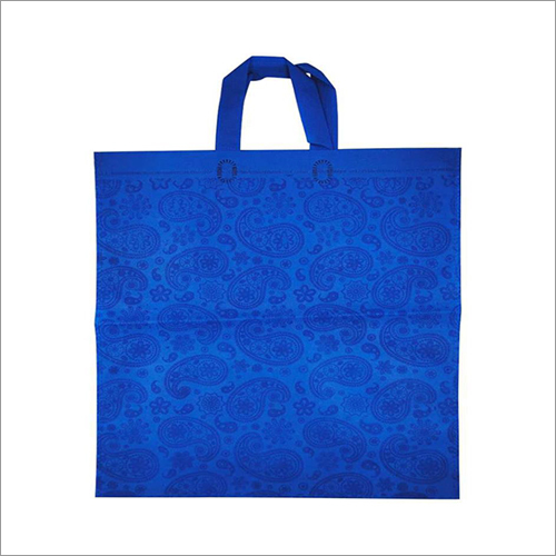 Kairy-Blue Non Woven Loop Handle Bag