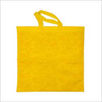 Kairy-Yellow Non Woven Loop Handle Bag