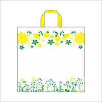 Garden- L. Yellow Non Woven Loop Handle Bag