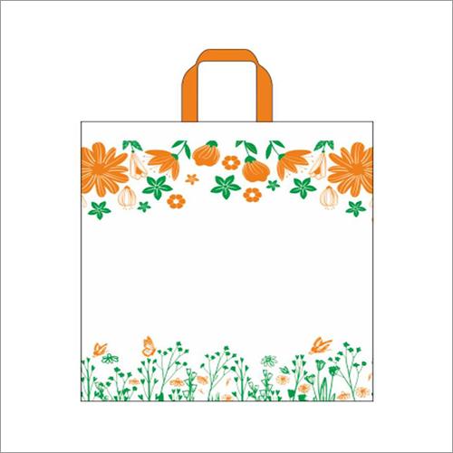 Garden - Orange Non Woven Loop Handle Bag