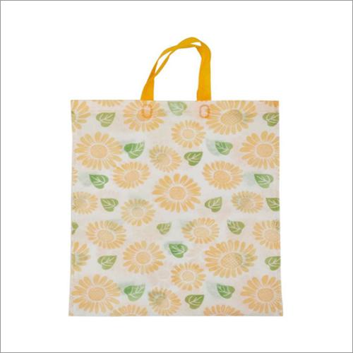 Sunflower- G.Yellow Non Woven Loop Handle Bag