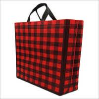 Plade-Red Non Woven Box Bag
