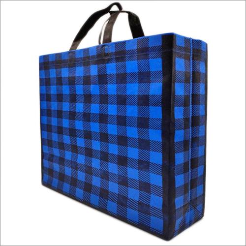 Plade-Blue Non Woven Box Bag