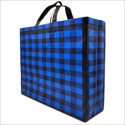 Plade-Blue Non Woven Box Bag Bag Size: Different Size Available