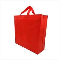 Criss Cross Red Non Woven Box Bag