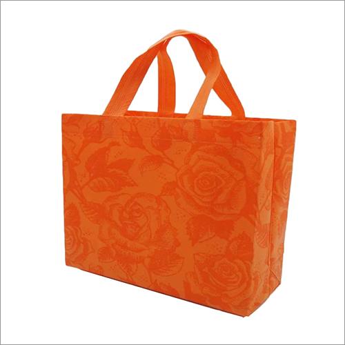 Zoom Rose Orange Non Woven Box Bag