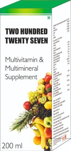 Multivitamin & Multimineral Supplement