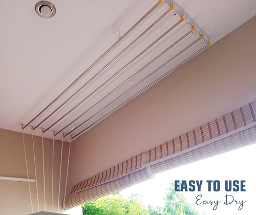 Ceiling Rope Cloth Drying Hanger