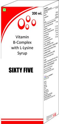 Vit B Complex With L Lysine Syrup