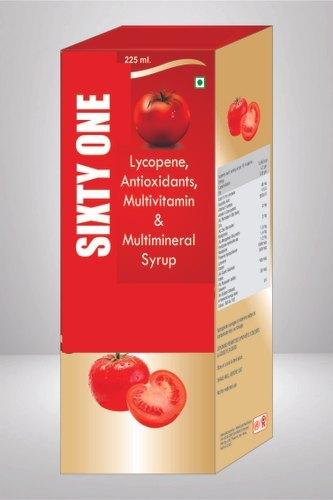 Lycopene Antioxidants Multivitamin & Multimineral Syrup