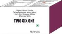 D Biotin N Acetyl L Cysteine Calcium Pantothenate Sodium Selenite Cupric Zinc Manganese Sulphate
