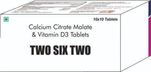 Calcium Citrate Malate & Vit D3 Tablets