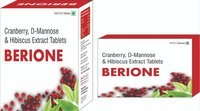 Cranberry D Mannose & Hibiscus Extract Tablets