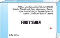 Cissus Quadrangularis Calcium Citrate Malte Calcitriol Zinc Magnesium Boron Hydrolysed Collagen Tab