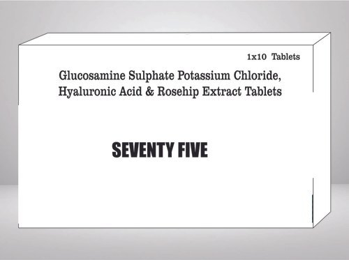 Glucosamine Sulphate Potassium Chloride Hyaluronic Acid & Rosehip Extract Tablet