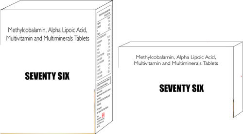 Methylcobalamin Alpha Lipoic Acid Multivitamin & Multiminerals Tablets