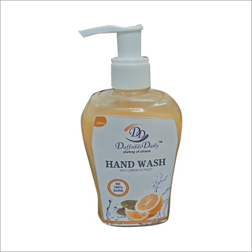 Lemon Fragrance Liquid Hand Wash
