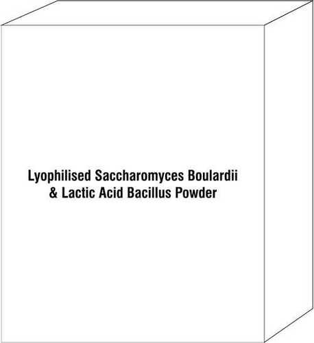 Lyophilised Saccharomyces Boulardii & Lactic Acid Bacillus Powder