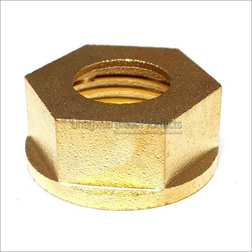 Hex-Collar Nut Sand Blasted