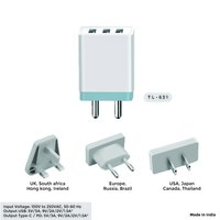 3 USB Port Mobile Charger