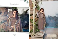 Cross Vol 4 Designer Silk Kurtis With Dupatta