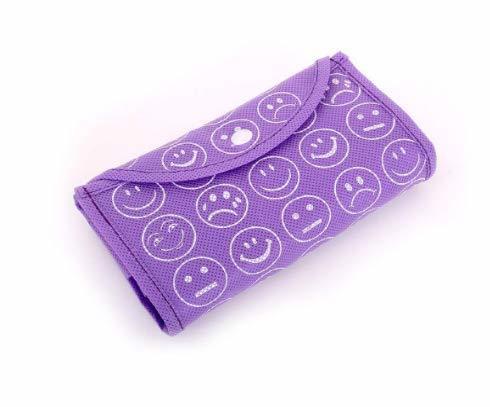 Smiley Folding Shopping Bag