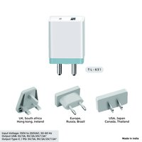 18w Type C + Pd Wall Charger