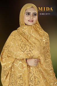 Dubai Style Sequins Scarves