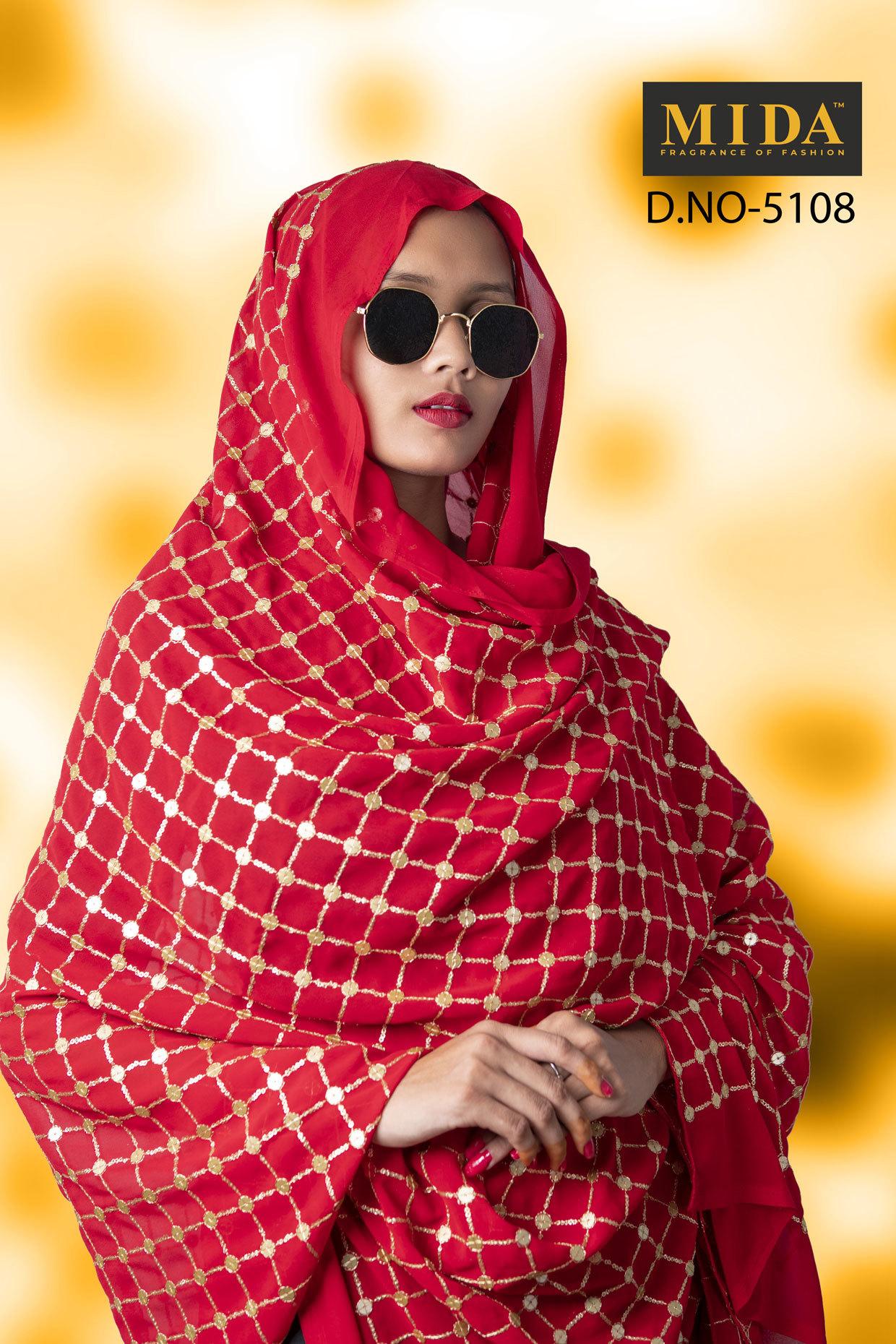 Fancy Sequins Veil