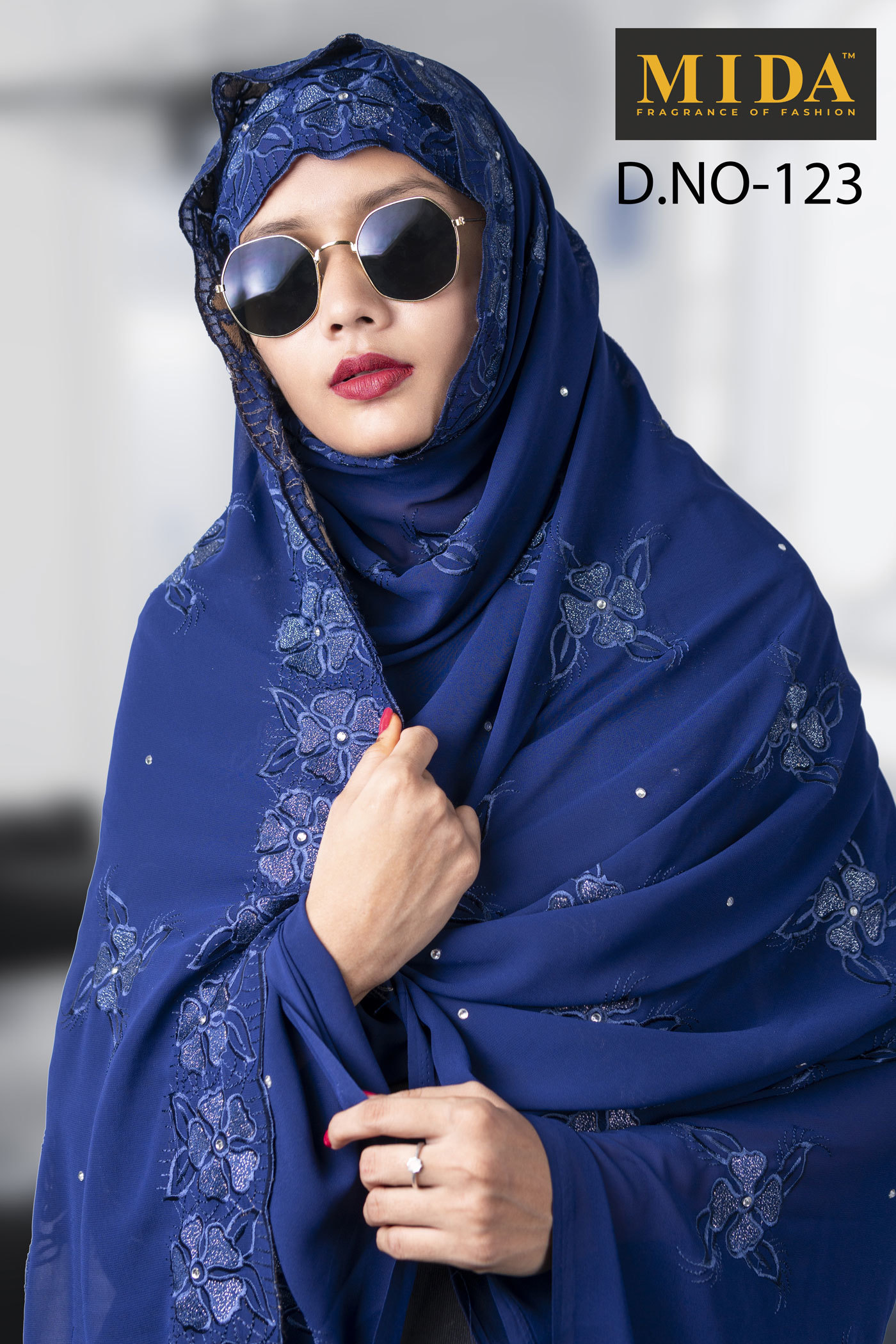Exclusive Embroidered Scarves