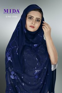 African Women Sequins Hijab Scarf