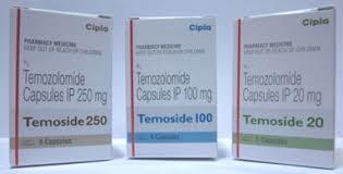 Temoside temozolamide capsules