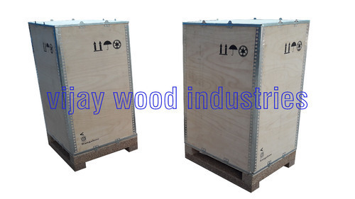 Plywood Nailless Packaging Box