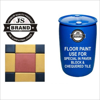 Floor Paint Special In Paver Block And Chequered Tile Chemical Name: Acrylic Polish